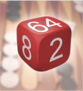 Dado de Backgammon