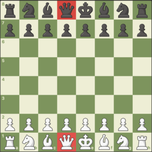 reina pieza de ajedrez