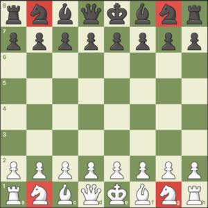 caballo pieza de ajedrez
