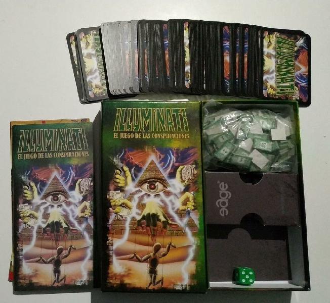 Cartas del juego Illuminati