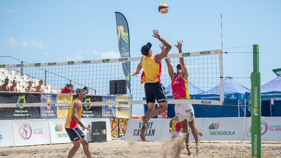 voleibol de playa amateur